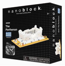 Nanoblock - The Parthenon