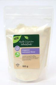 Health Connection Wholefoods Coconut Flour - Organic - 500g