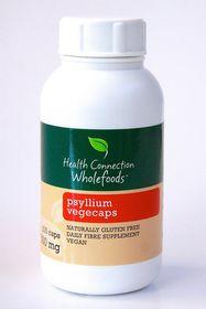 Health Connection Wholefoods Psyllium Vegecaps - 500mg