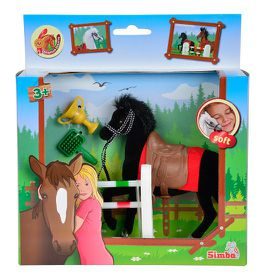 Champion Beauty Horse with Accessories Black