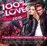 Various - 100% Love 2016 (CD)