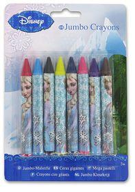Disney Frozen 8 Jumbo Crayons