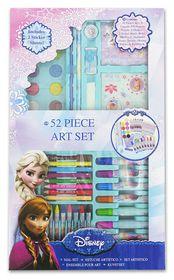 Disney Frozen 52 Piece Art Set