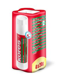 Kores Glue Stick 4x 20g