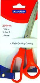 Marlin Scissors Orange Handle - 210mm
