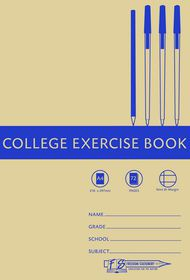 Freedom Stationery 72 Page A4 F&M College Exercise Book (20 Pack)