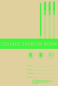 Freedom Stationery 72 Page A4 I&M College Exercise Book