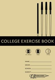 Freedom Stationery 72 Page A4 Alternate Ruling College Exercise Book