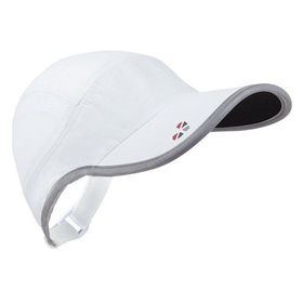 LifeBeam Hat - White & Silver + HRM