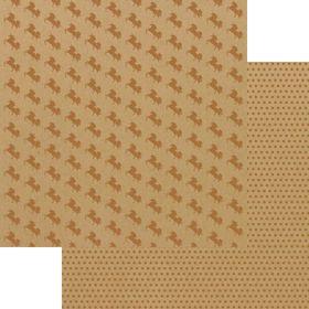 Lady Pattern Paper Kraft Essentials - Oh Unicorn! - Metallic Copper (10 Sheets)