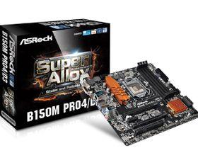 ASRock Intel B150M Pro4/D3 Motherboard - Socket 1151