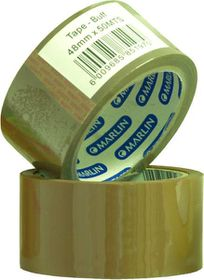 Marlin Brown Packaging Tape 48mm x 50m (Single Unit)