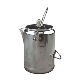 Coleman - 9 Cup Aluminium Coffee Pot - Silver