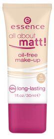 Essence All About Matt! Oil Free Make Up 15 Beige