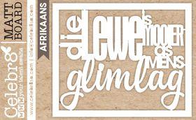 Celebr8 Matt Board Midi - Lewe Glimlag