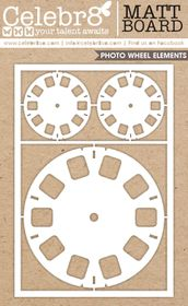 Celebr8 Matt Board Maxi - Photo Wheels