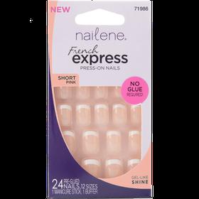 Nailene French ExpressShort PinkFuzzy198