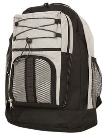Gotcha Student Laptop Backpack - Black-Beige