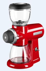 KitchenAid - Burr Grinder - Red