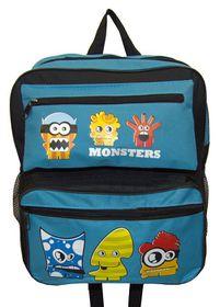 Parco Kiddy Monster Backpack - Blue