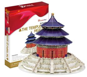 Cubic Fun The Temple of Heaven (China) 111 pieces 3D Puzzle