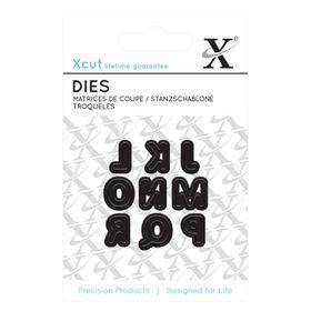 Xcut Mini Dies - Alphas Pattern 2