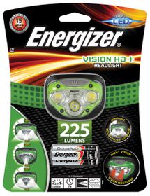 Energizer - Vision HD & Headlight 225 Lumens - Green