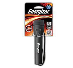 Energizer - Plastic LED Light 2AA - Black