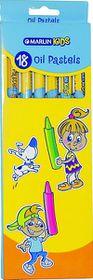 Marlin Kids 18 Oil Pastels