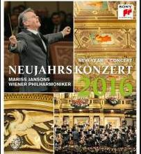 Mariss Jansons & Wienna Philharmonic - Neujahrskonzert / New Year'S Concert 2016 (Blu-Ray)