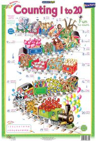 Marlin Kids Chart - Counting 1 to 20