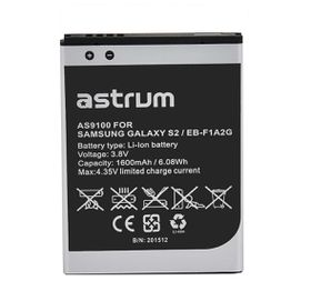 Astrum Replacement Battery for Samsung Galaxy S2 / EB-F1A2G - AS9100