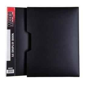 Meeco Executive A4 Display Book 100 Pockets - Black