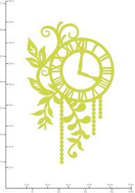 Kaisercraft Cutting Dies - Foliage Clock