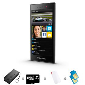 Blackberry Z3 8GB 3G Black - Bundle 1 incl. R2000 Airtime + 1.2GB Starter Pack + Accessories