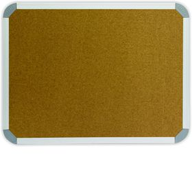 Parrot Info Board Aluminium Frame - Cork (900 x 900mm)