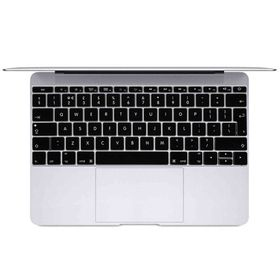 "Tuff-Luv Silicone Keyboard Protection for New Macbook 12"" - Black (UK/EU Keyboard Layout)"