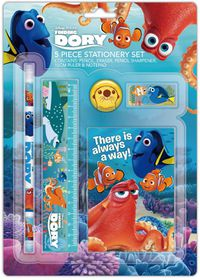 Finding Dory 5 Piece Stationery Set