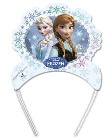 Frozen Ice Skating Die Cut Tiaras