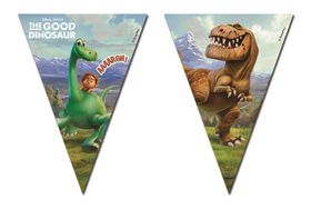 The Good Dinosaur Triangle Flag Banner