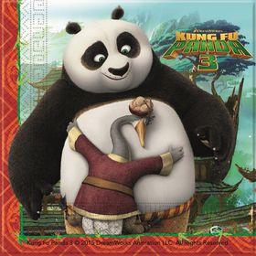 Kung Fu Panda 2Ply Paper Napkins