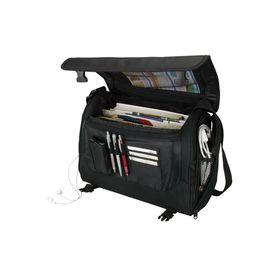 Eco Executive Messenger Bag - Black