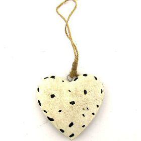 Pamper Hamper - Wooden Hanging Heart
