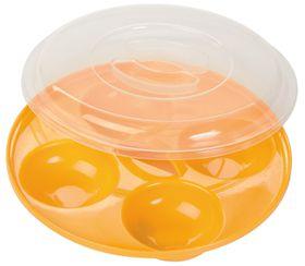 Progressive Kitchenware Micro 4 Egg Poacher - Yellow