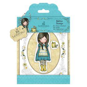 Docrafts Gorjuss Rubber Stamp - The Little Friend