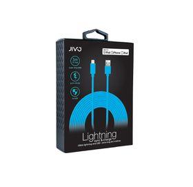 Jivo Lightning to USB Cable 3 Meters X-Long - Blue (MFI)