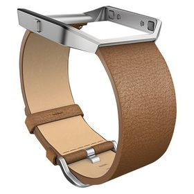 Fitbit Blaze Accessory Band Leather Camel - Large