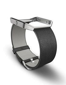 Fitbit Blaze Accessory Band Leather Black - Small
