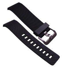 Fitbit Blaze Accessory Band TPU Black - Extra Large
