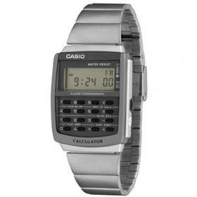 Casio Mens CA-506-1UR Digital Calculator Watch